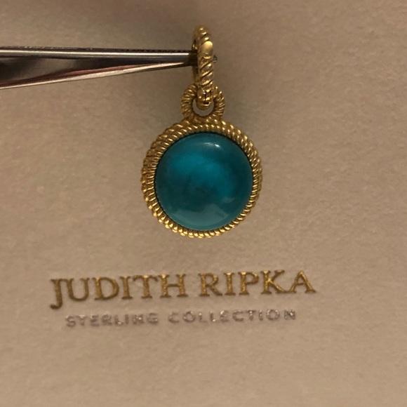 Jade Hinged Bail Enhancer JUDITH RIPKA 925 Charm Pendant